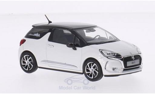 DS Automobiles DS3 1/43 Norev Citroen DS 3 metallise blanche/metallise marron 2016 miniature