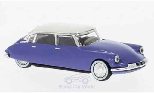 Citroen DS 19 1/87 Norev bleue/blanche 59 miniature
