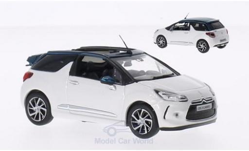DS Automobiles DS3 1/43 Norev Citroen Cabrio blanche/metallise verte 2015 Dachteile liegen ein miniature