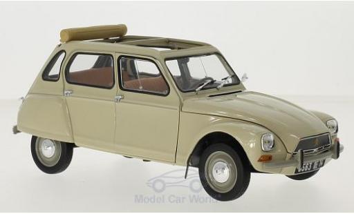 Citroen Dyane 1/18 Norev 6 beige 1970 miniature