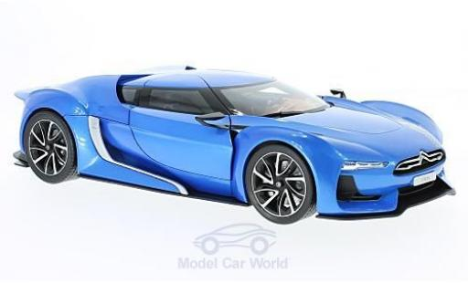 Citroen GT 1/18 Norev metallise bleue 2008 miniature