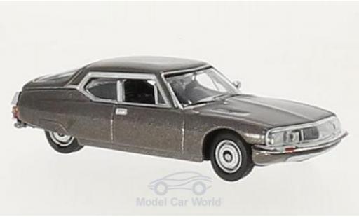 Citroen SM 1/87 Norev metallise marron 1970 miniature