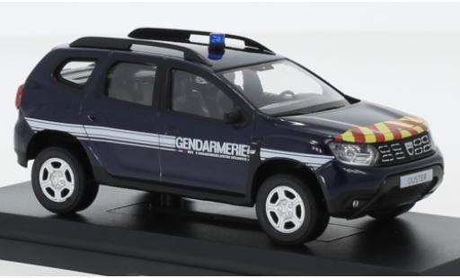 Dacia Duster 1/43 Norev Gendarmerie (F) 2018 modellino in miniatura
