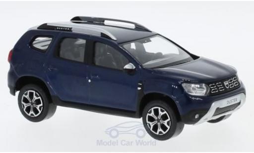 Dacia Duster 1/43 Norev metallise blu 2018 modellino in miniatura