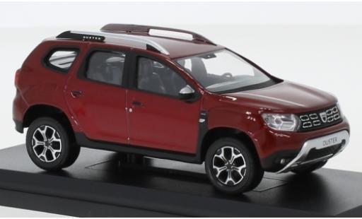 Dacia Duster 1/43 Norev metallise rosso 2018 modellino in miniatura