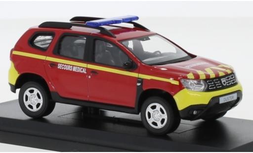 Dacia Duster 1/43 Norev Pompiers Secours Medical (F) 2018 modellino in miniatura