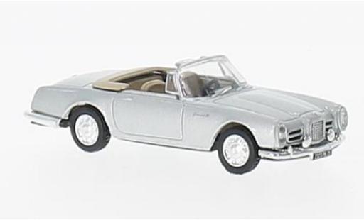 Facel Vega II 1/87 Norev I Cabriolet grey 1963 diecast model cars