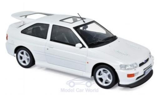 Ford Escort 1/18 Norev RS Cosworth blanche 1992 miniature
