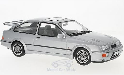 Ford Sierra Cosworth 1/18 Norev RS metallise grey 1986 diecast model cars