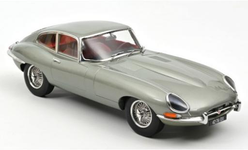 Jaguar E-Type 1/43 Norev Coupe metallise grise 1964 miniature