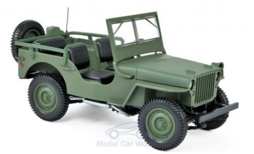 Jeep Willys 1/18 Norev oliv 1942 miniature