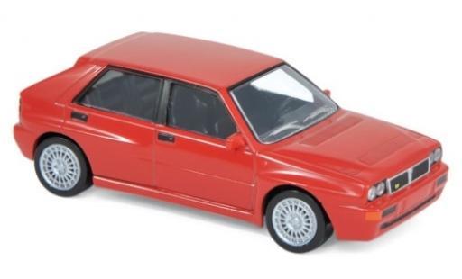 Lancia Delta 1/43 Norev Evoluzione 2 rouge 1993 Jetcar miniature