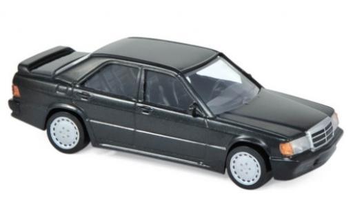 Mercedes 190 1/43 Norev E 2.3-16 (W201) metallise noire 1984 Jetcar miniature