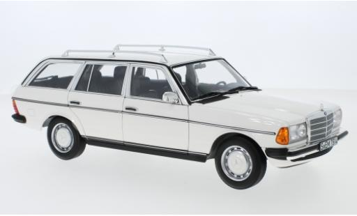 Mercedes 200 1/18 Norev T (S123) white 1982 diecast model cars