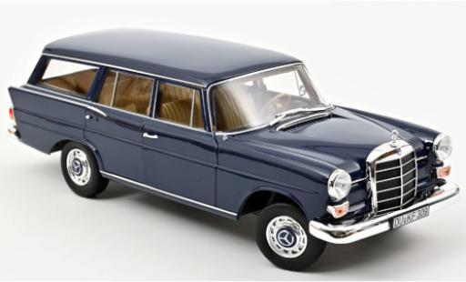 Mercedes 200 1/18 Norev Universal bleue 1966 miniature