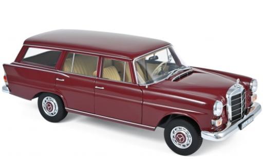 Mercedes 200 1/18 Norev Universal rouge 1966 miniature