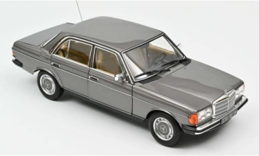 Mercedes 200 1/18 Norev (W123) metallise grey 1982 diecast model cars