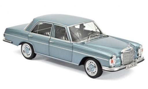 Mercedes 280 1/18 Norev SE (W108) metallise bleue 1968