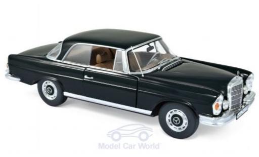 Mercedes 280 1/18 Norev SE (W111) Coupe noire 1969 miniature
