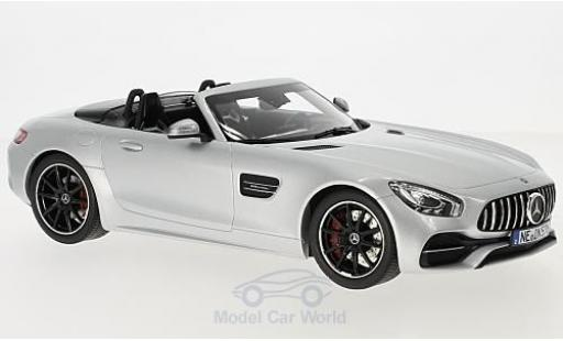 Mercedes AMG GT 1/18 Norev C Roadster grey 2017 diecast model cars