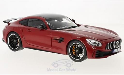 Mercedes AMG GT 1/18 Norev R red 2017 diecast model cars