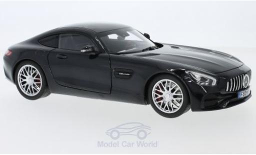 Mercedes AMG GT 1/18 Norev S metallise black 2018 diecast model cars
