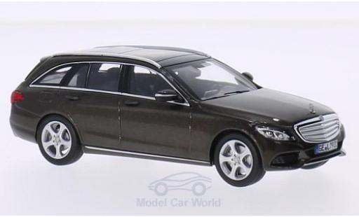 Mercedes Classe C 1/43 Norev T-Modell (S205) métallisé marron 2014 miniature