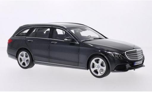 Mercedes Classe C 1/18 Norev T-Modell (S205) metallise grise 2014 miniature