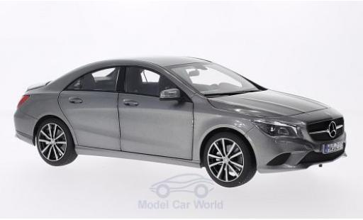 Mercedes CLA 1/18 Norev CLClasse A metallise grey 2013 diecast model cars