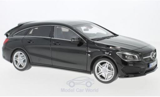 Mercedes CLA 1/18 Norev Shooting Brake (X177) noire 2015 miniature