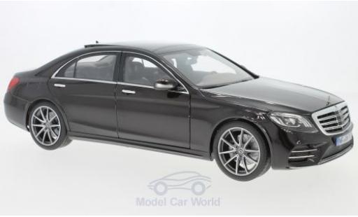 Mercedes CLA 1/18 Norev S-Class AMG Line metallic black 2018 diecast