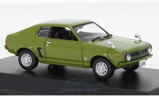 Mitsubishi Galant 1/43 Norev FTO GSR verte RHD 1973 miniature
