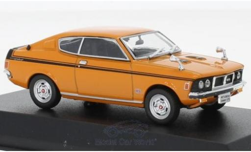 Mitsubishi Galant 1/43 Norev GTO orange RHD 1970 miniature