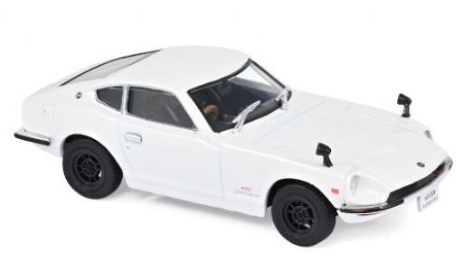 Nissan Fairlady Z 1/43 Norev 432 blanche RHD 1969 miniature