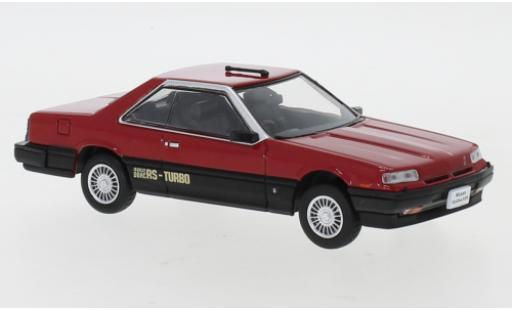 Nissan Skyline 1/43 Norev Hardtop 2000 Turbo RS-X (R30) rouge/matt-noire RHD 1983 miniature