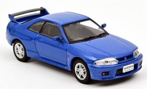 Nissan Skyline 1/43 Norev (R33) GT-R metallise bleue RHD 1995 miniature