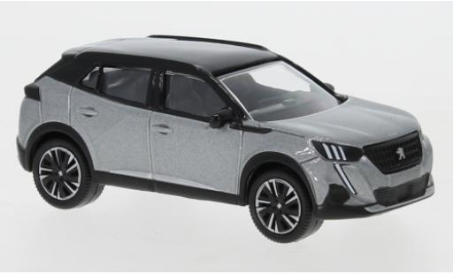 Peugeot 2008 1/64 Norev metallise grise/noire 2020