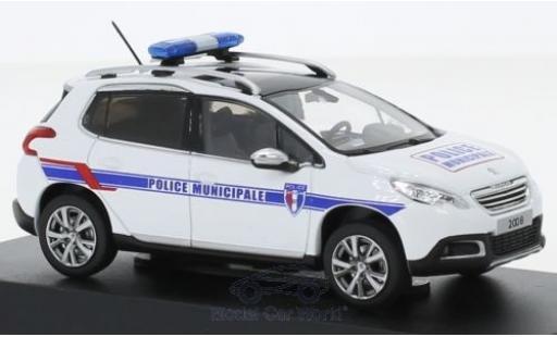 Peugeot 2008 1/43 Norev Police Municipale Polizei (F) 2013 miniature