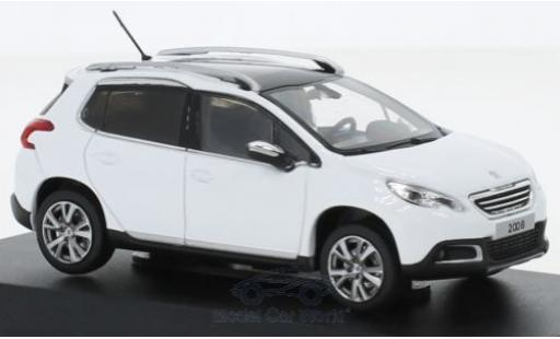 Peugeot 2008 1/43 Norev blanco 2013 miniatura