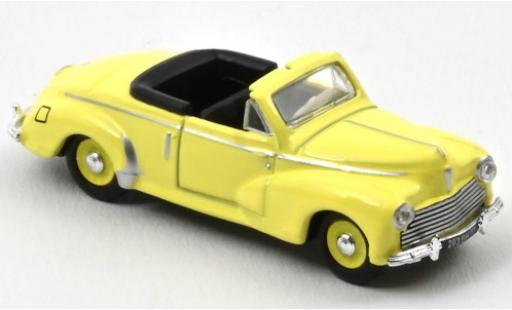 Peugeot 203 1/87 Norev Cabriolet jaune 1952 miniature