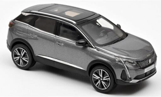 Peugeot 3008 1/43 Norev GT metallise grise 2020 miniature