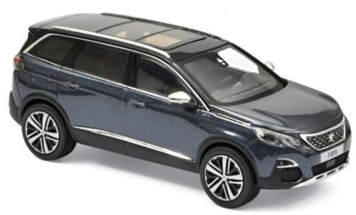 Peugeot 5008 1/43 Norev GT metallise bleue 2016 miniature