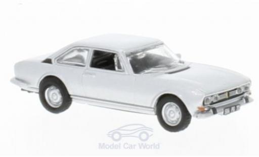 Peugeot 504 1/87 Norev Coupe grigio 1971 ohne Vitrine