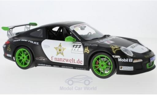 Porsche 997 SC 1/18 Norev (997II) GT3  No.177 Flash-Racing Team Ring Police Sports Cup 2011 J.van Ommen/J.E.Slooten miniature