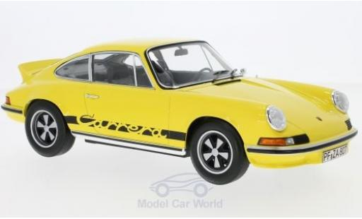 Porsche 911 SC 1/18 Norev RS Touring yellow/black 1973 diecast model cars
