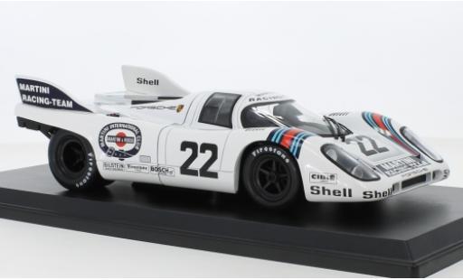 Porsche 917 1971 1/18 Norev K No.22 Martini Racing Team 24h Le Mans H.Marko/G.van Lennep miniature