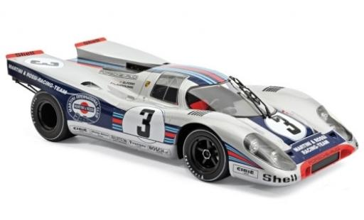 Porsche 917 1971 1/12 Norev K RHD No.3 Martini & Rossi Racing Team 12h Sebring V.Elford/G.Larousse diecast model cars
