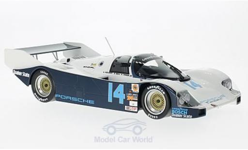 Porsche 962 1986 1/18 Norev C No.14 Löwenbräu Holbert Racing 24h Daytona mit Decals A.Holbert/D.Bell/A.Unser Jr. miniature