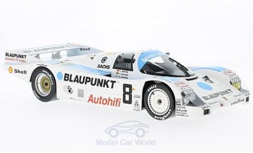 Porsche 962 1988 1/18 Norev C No.8 Blaupunkt 24h Le Mans J.Winter/F.Jelinski/S.Dickens miniature