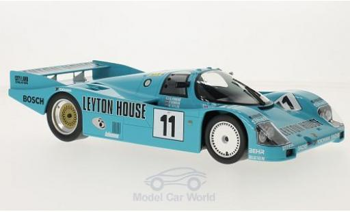 Porsche 962 1987 1/18 Norev C No.11 Kremer Racing Leyton House 24h Le Mans 1987 G.Fouche/F.Konrad/W.Taylor miniature